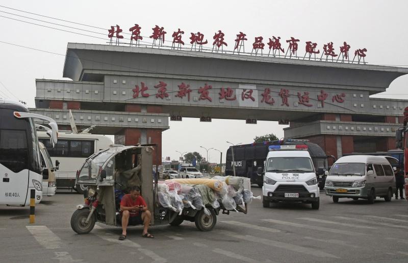 ▲北京新冠肺炎本土疫情再起。(圖/美聯社/達志影像)