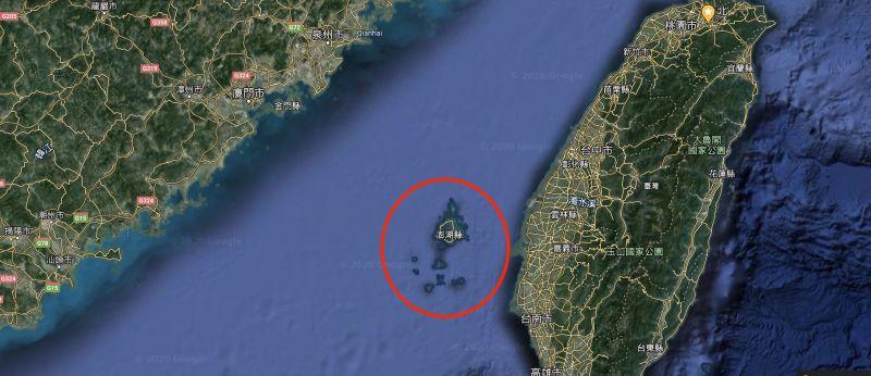 ▲若共軍侵台必先奪取澎湖?兩派人馬戰翻論關鍵。(圖/翻攝自 Google Map )