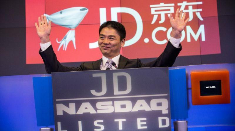 ▲劉強東,京東集團創始人、董事局主席兼執行長。(圖/翻攝自 CNBC )