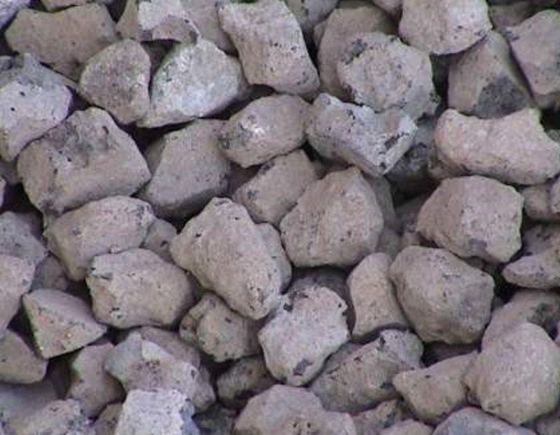 ▲轉爐石粒料。(中聯資源公司提供)