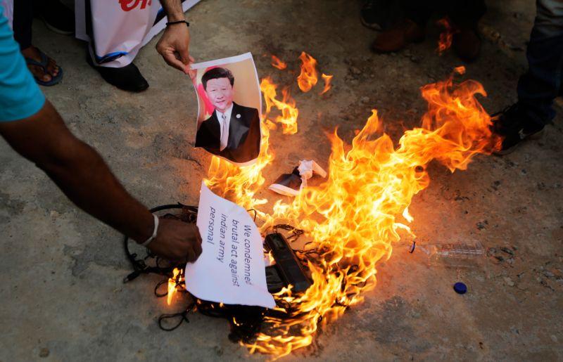 ▲印度與中國近來情勢緊張。(圖/美聯社/達志影像)