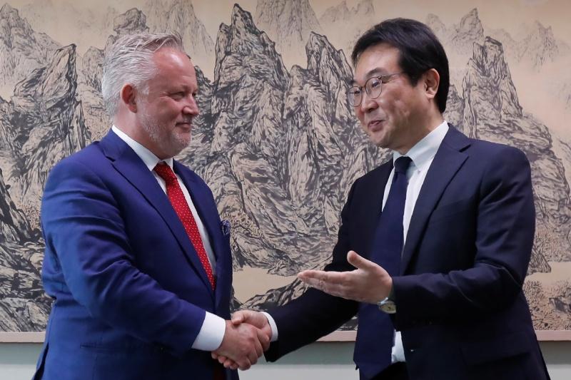南韓朝鮮半島代表訪美 料將商討北韓議題