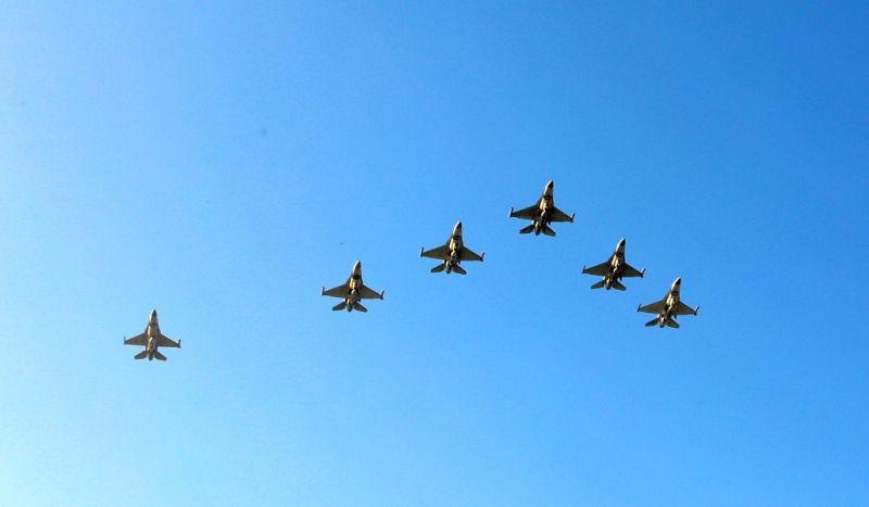 嘉義縣行銷日環食加碼再加碼,F16戰機大雁衝場來囉!(圖/嘉義縣政府提供)