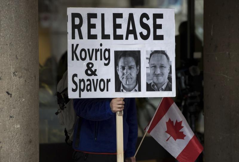 ▲加拿大前外交官康明凱和商業顧問史派佛,目前仍遭北京羈押中。(圖/美聯社/達志影像)