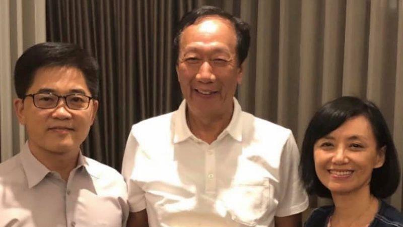 臉書PO文挺黃健庭 郭台銘:他去監察院是大材小用