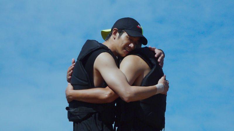 ▲劉以豪(左)跟李昇基因節目成為好朋友(圖/Netflix)