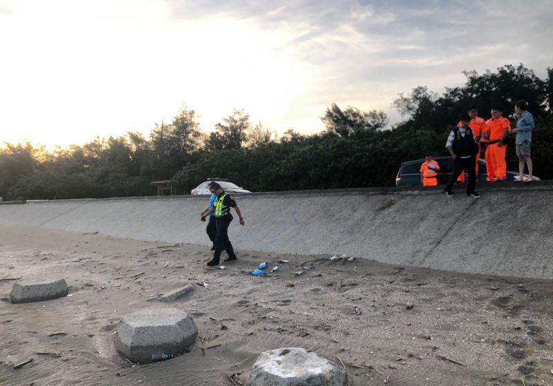 桃園7月大女嬰遭<b>虐殺</b> 塑膠袋裝屍埋沙灘