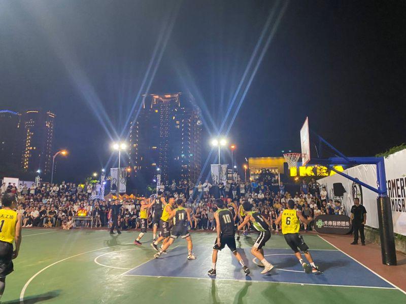 中市夢想家青年隊選拔賽 湧入滿場球迷