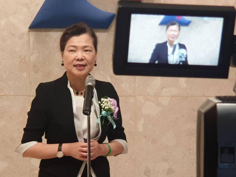 ▲新任經濟部長王美花(圖/記者許家禎攝)