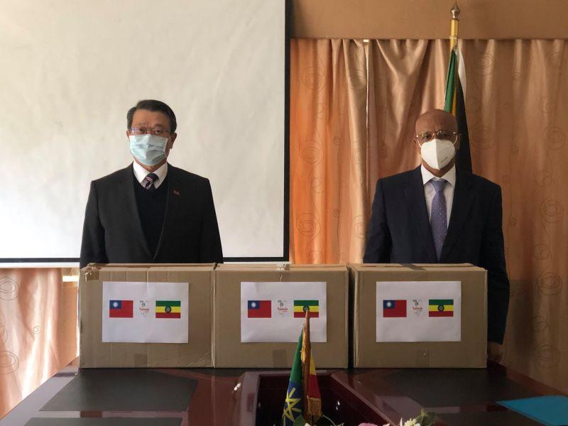 不計前嫌!台灣贈10萬片口罩 助譚德塞家鄉衣索比亞抗疫