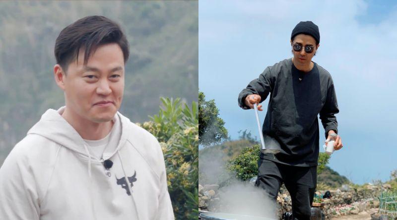 ▲李瑞鎮(左)假裝不幫忙,氣死車勝元。(圖/愛奇藝台灣站、tvN)