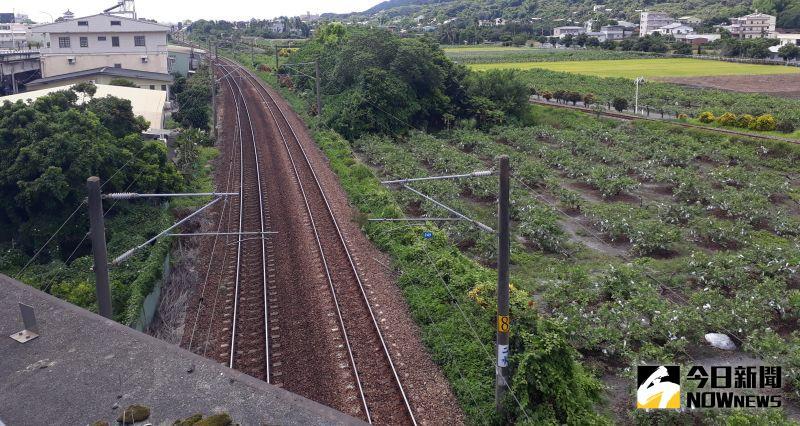 ▲鐵路縱貫線。(示意圖/記者陳雅芳翻攝,2020.06.20)