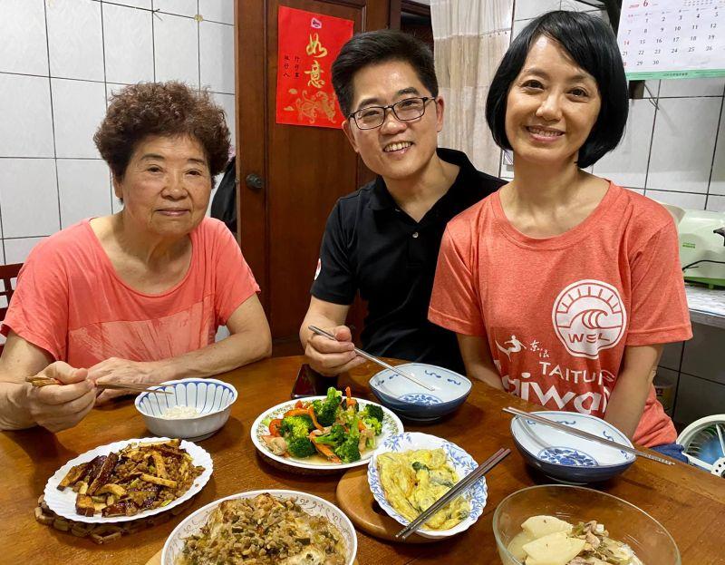 甩監委提名風波 黃健庭:陪媽吃飯最享受