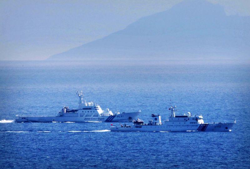 中國海警船靠近釣魚台海域 日本:斷難容忍