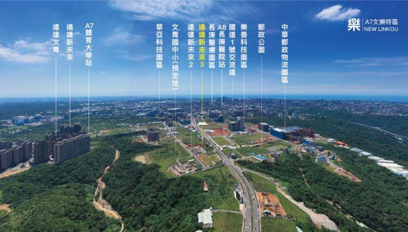 ▲今年暑假遠雄新未來3正式推出,位於A7重劃區的「文樂特區」,文青雙語國中小第一排。(圖/公關照片)