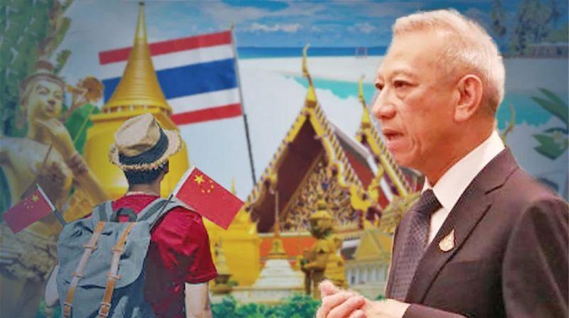 ▲泰國觀光及體育部長披帕(圖/翻攝自The