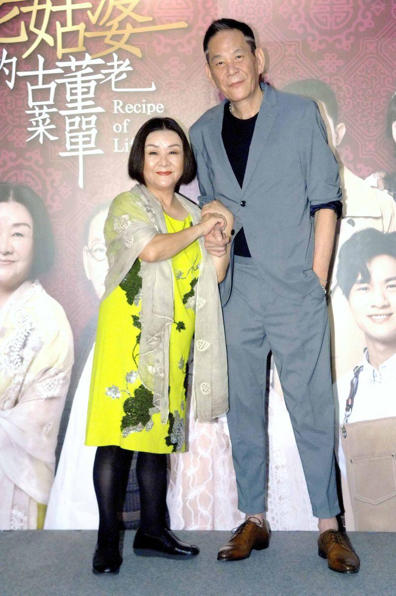 ▲吳秀珠(左)、龍劭華。(圖