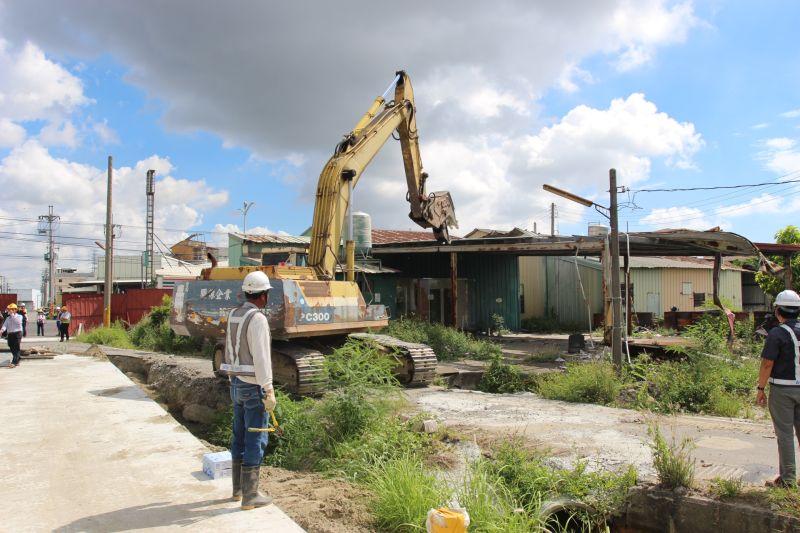 斗南小東重劃強制拆除 明年7月完工供數千就業