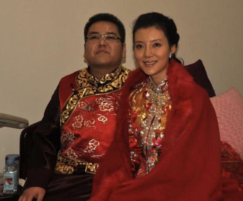 ▲車曉與李兆會的世紀婚禮曾轟動一時。(圖/翻攝自微博)