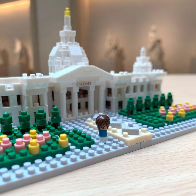 迷你奇美博物館百分百還原全部重點,還有小小遊客開心遊園