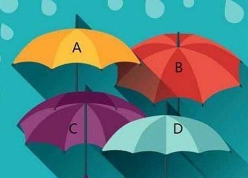 準到想哭!直覺選擇最想拿的<b>雨傘</b> 秒測你的「隱藏性格」