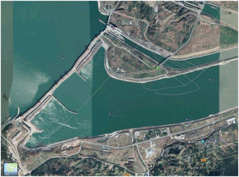 ▲三峽大壩。(圖/翻攝自 Google Map )