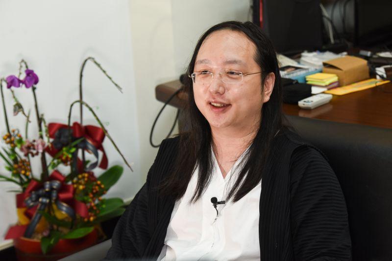 ▲行政院政務委員唐鳳。(圖/記者陳明安攝)