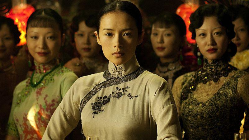 ▲▼章子怡穿旗袍很有特色。(圖/《一代宗師》劇照)