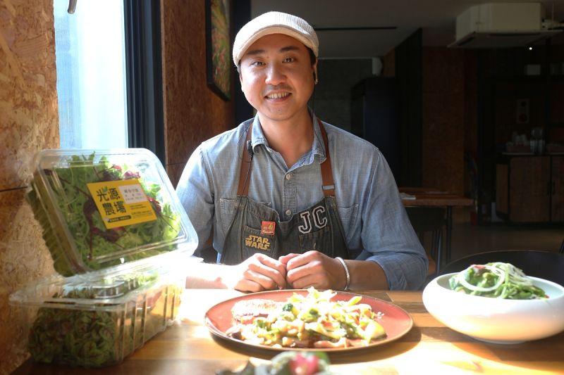 ▲賴家丞表示,開餐廳不只是填飽客人的肚子而已,要讓客人覺得好吃之外,還要讓客人吃得健康、安心。(圖/資料照片)