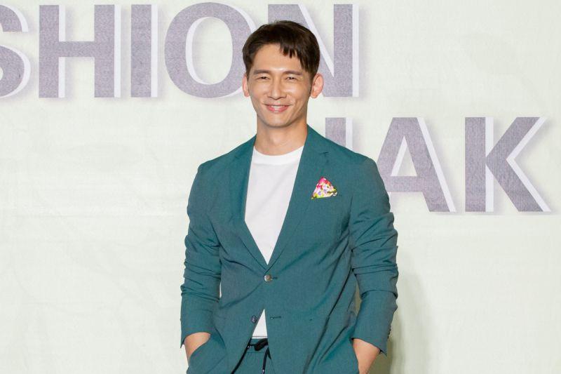 ▲溫昇豪出席2020時尚客家服飾設計競賽記者會。(圖 / 桃園市客家文化基金會提供 )