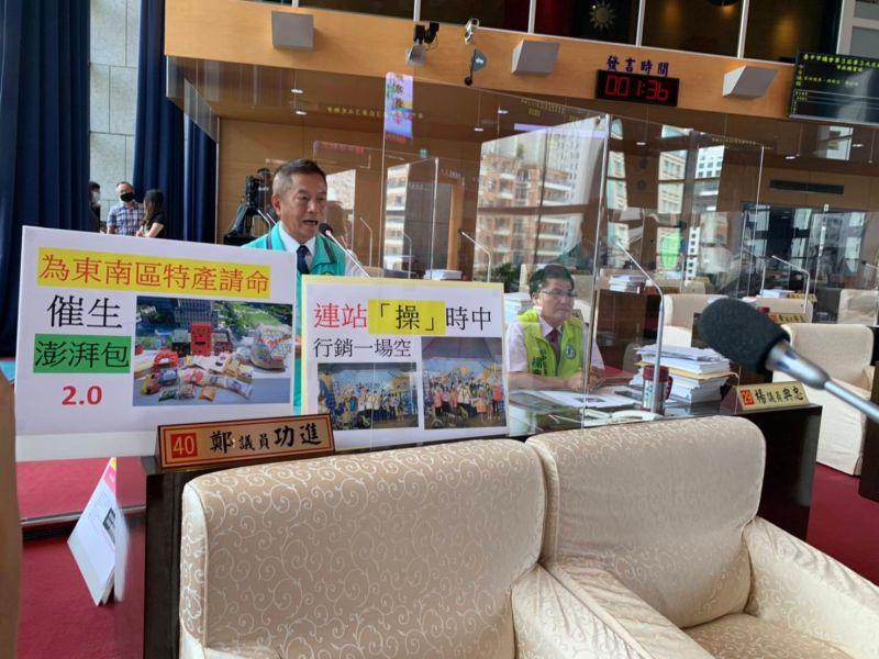 台中購物節知名小吃「望節興嘆」 議員批不接地氣