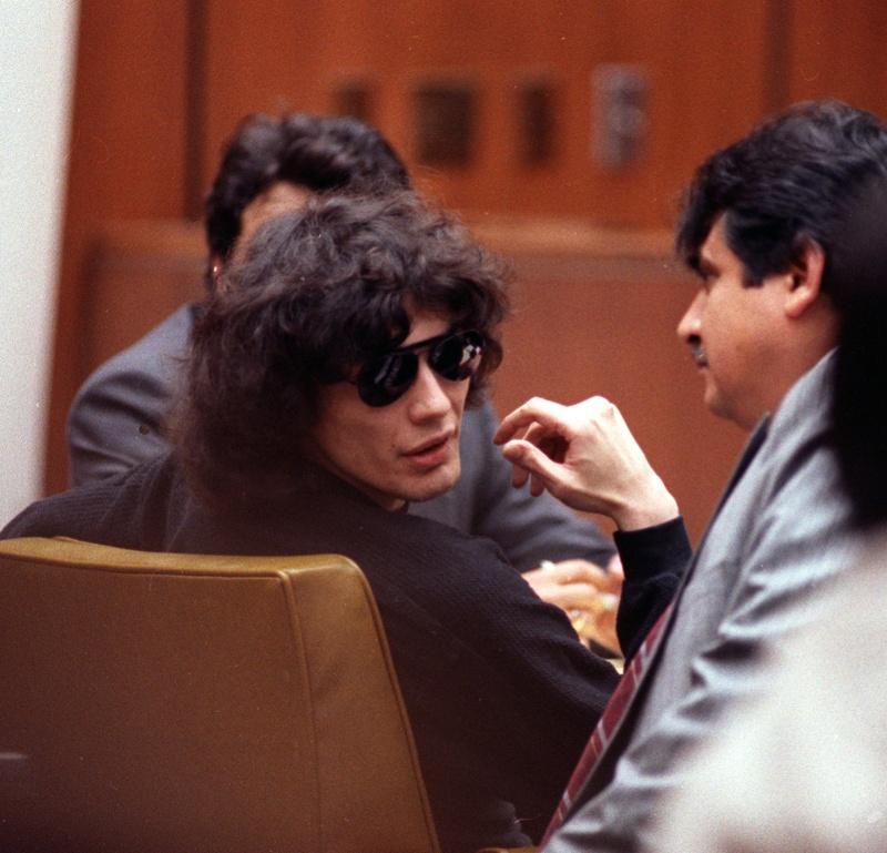 ▲令 80 年代的加州居民聞之色變的連環殺手理查‧拉米雷茲。(圖/美聯社/達志影像)
