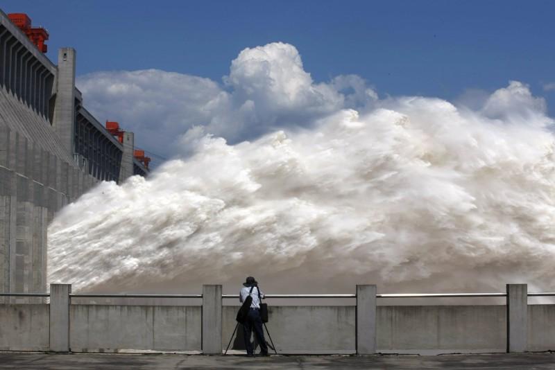 ▲ 圖為三峽大壩。(圖/翻攝自推特)