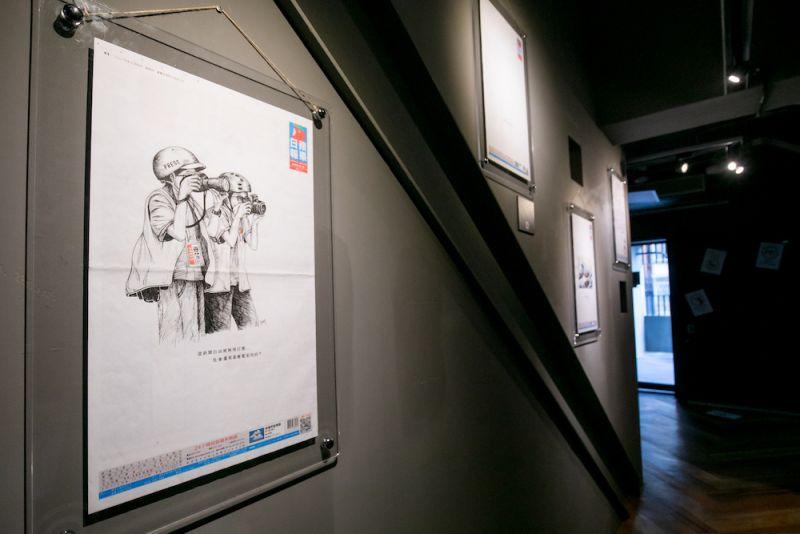 ▲此次展覽共有45位香港創作者參展,其中年僅26歲的Kay
