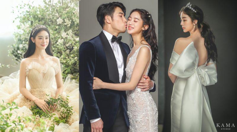 ▲惠林下月結婚,婚紗照公開。(圖/翻攝KAMA studio官網)