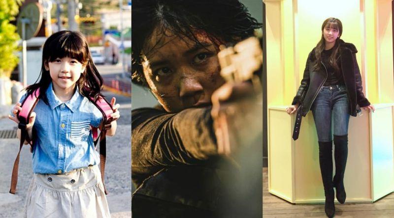 ▲李蕊8歲出演《素媛》廣為人知,今年擔任《屍速列車2:感染半島》重要角色。(圖/Naver電影、李蕊IG)