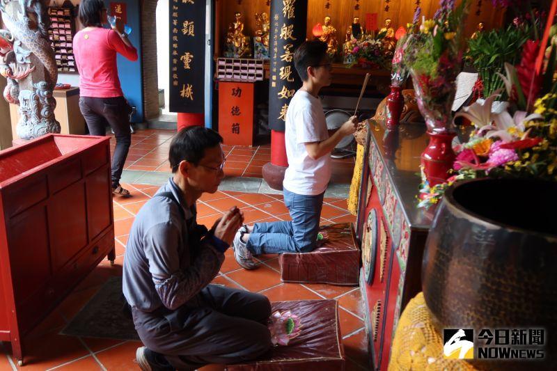 ▲清水岩寺是全台灣主祀觀音而屬於超鄉鎮性的6座區域廟「巖仔」之一。(圖/記者陳雅芳攝,2020.06.25)