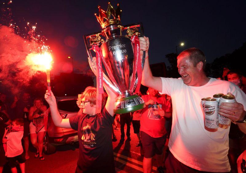 利物浦拿下英超冠軍