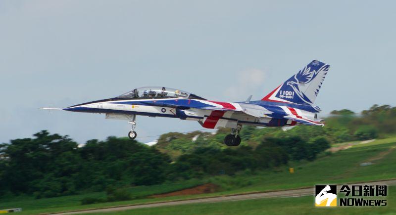 影/勇鷹原型機進場速度過高 綠委提案要求空軍研擬對策