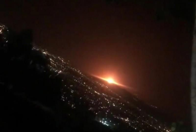 伊朗天然氣儲存設施爆炸 位處敏感軍事基地附近