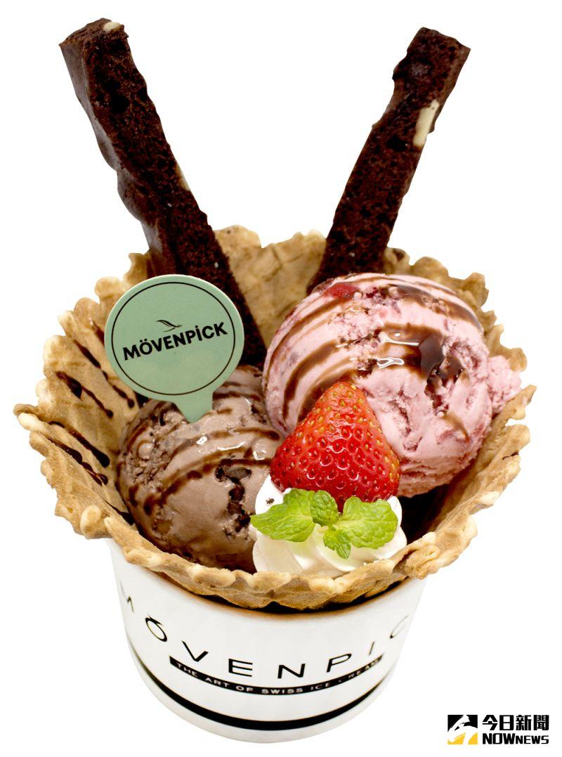 ▲莫凡彼氷淇淋主打天然、無負擔,堅持呈現水果原味風貌。(圖/金武鳳攝,2020.6.26)