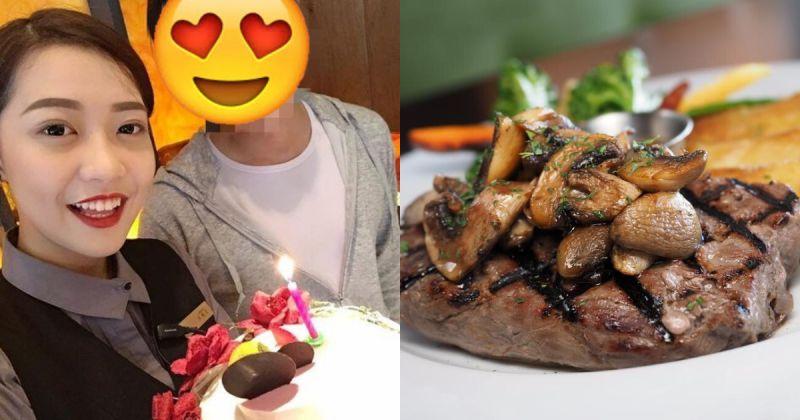 ▲網友一個人去吃牛排,卻遇到天使店員。(示意圖/翻攝自 Pixabay )