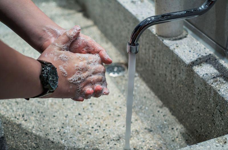▲洗手。(示意圖/翻攝自