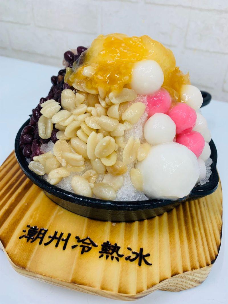 ▲冷熱冰的傳統口味,在麗寶也可以吃的到(圖/記者
