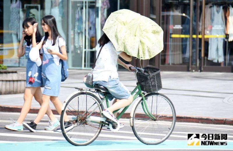 外出帶傘!北部、東北部局部降雨 3地區高溫特報