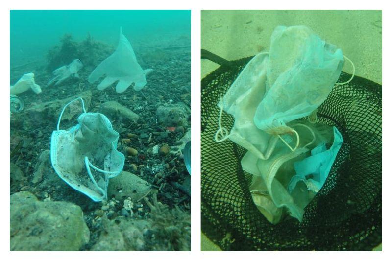 疫情後竟出現「廢棄口罩海」 畫面震驚專家:比<b>水母</b>還多