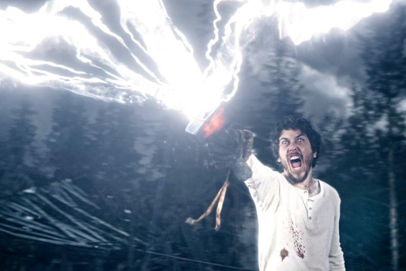 ▲《超能追緝》以北歐神話的雷神起源挑戰大銀幕。(圖/采昌)