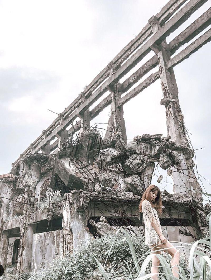 ▲廢棄造船廠榮登近年來最夯的外拍景點之一。(圖|IG網友yilin_10101010提供)