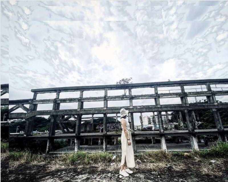 ▲廢棄造船廠榮登近年來最夯的外拍景點之一。(圖|IG網友@98naaai.h提供)