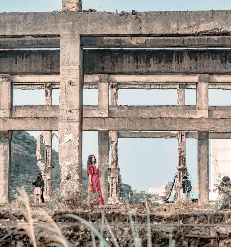 ▲阿根納造船廠廢墟。(圖|IG網友@yu_wei_chih提供)